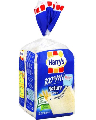 HARRY'S Pain de mie sans croûte